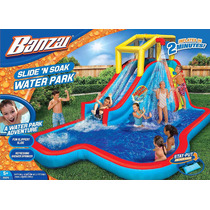 Inflable Spring & Summer Toys Banzai Slide N Soak Splash