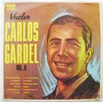 Carlos Gardel El Zorzal Criollo Vol 2 1 Disco Lp Acetato