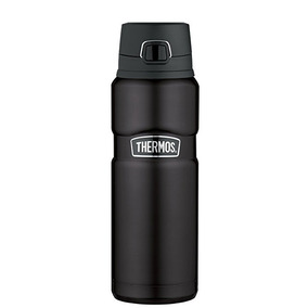 Thermos Stainless King Drink Bottle 24-ounce Matte Black