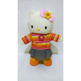Boneca Hello Kitty Multibrink Sanrio - 27 Cm
