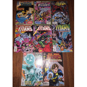 Lote The New Titans #83 #90 #123 #124 #125 #126 #127 Ingles