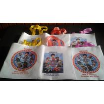 Bolsas Friselina Personalizadas Pack X 30