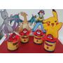 Centros De Mesa Infantiles Pokemon,mickey,winni Pooh