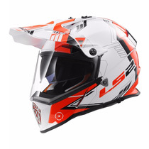 Casco Ls2 Mx436 Cross Con Visor Pioneer Devotobikes New 2017