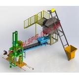 Prensa Para Fabricação De Tubos De Concret Dn200 A 600mm Spg