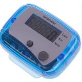 Pedômetro Digital Cont.passos / Km/ Calorias Passômetro Azul