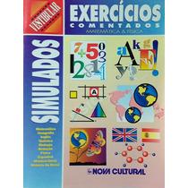 Livro Simulados Exercícios Comentados Matemática E Física