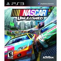 Jogo Novo De Corrida Nascar Unleashed Playstation 3
