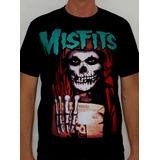 Camiseta Misfits - Coffins
