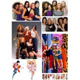 Spice Girls Planchas Foto Stickers Britney