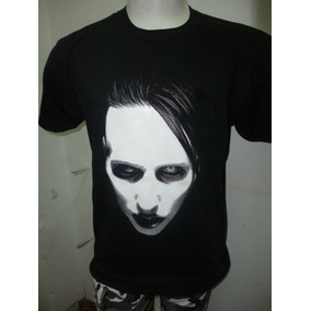 Remeras De Marilyn Manson - Varios Modelos - Que Sea Rock!!!