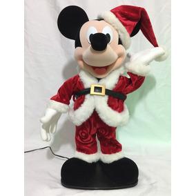 Gran Mickey Mouse Danzarín Y Musical Navideño Santa Claus