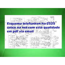 Esquema Telefunken Em Pdf Hsr2525 Hsr 2525 2525