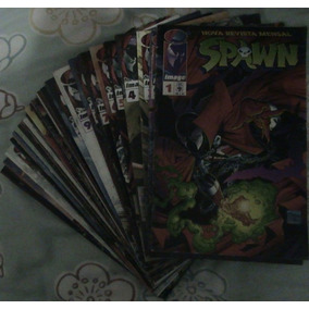 Gibi Hq Spawn Image Abril (7 Exemplares Diversos)