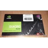 Targeta Grafica Nvidia Quadro K600 Nueva -efa-