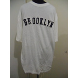 Remera Brooklyn Importada Cotton Y Viscose De Bambu Organic