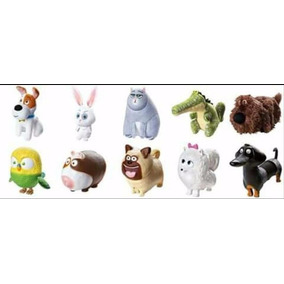 Brinquedos Mc Donalds A Vida Secreta Pets Mclanche Unidade