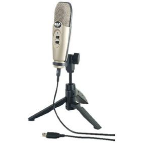 Cad U37 Usb Micrófono De Condensador De Estudio Envío Gratis