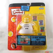Figura Nueva Gordo De Las Historietas Simpsons Playmates 15