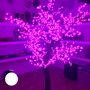 Árvore Decorativa Com Luzes De Led Brancas S/juros