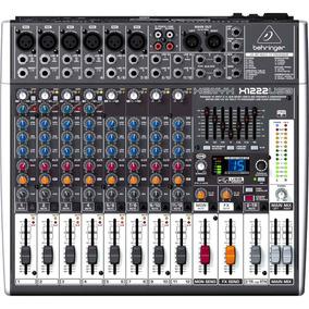 Mixer Mesa De Som X 1222 Behringer 12 Canais Xenyx X1222 Usb