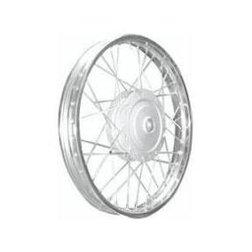 Roda Montada Dianteira Biz 100/125 17x120 Cromada