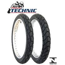 Pneu Moto 90/90-21 E 120/80-18 Technic T&c Tornado/xre 300
