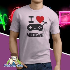 Camiseta I Love Videogame