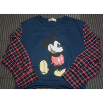 Poleron Mickey Mouse Talla S