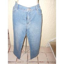 Pantalon De Mezclilla Con Pedreria