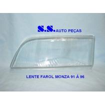 Vidro Lente Do Farol Monza 9192 93 94 95 96 Modelo Cibié