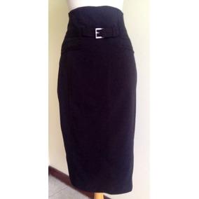 Elegante Falda Tubo Color Negro Importada Talla 8