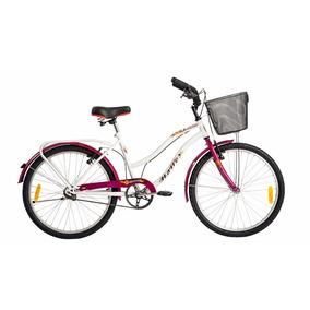 Bicicleta Playera Paseo Rodado 24 Halley 19337 Mujer Nena