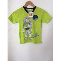 Playera Toy Story Buzz Lightyear Niño Disney Pixar Oficial
