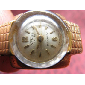 Intihuatana: Reloj Pulsera Swiss Mujer, Venus Incabloc