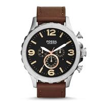 Relógio Masculino Fossil Nate Jr1475/2pn - Aço Inox Original