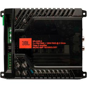 Módulo Amplificador Jbl Selenium 3 Canais 300.3 300w Rms Som