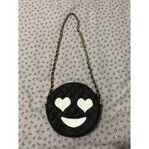 Bolsa De Couro Legítimo Mims Bags Candy Face