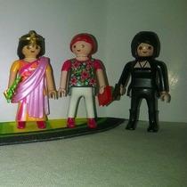 Playmobil Figure Serie 3 Mujer D La India,embarazada,espía B
