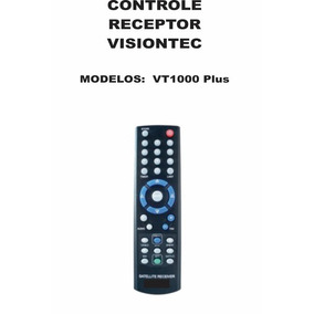 Controle Remoto Visiontec Vt1000 Plus Original
