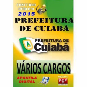 Apostila Concurso Publico Prefeitura Cuiaba