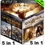 God Of War Trilogia - Total De 5 Jogos - Ps3 Psn - Gamesgo