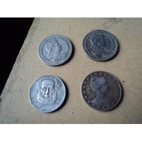 Lote De Antiguas Monedas De 100 Reis