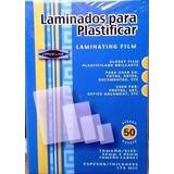 Lamina De Plastificar Cedula, 175 Micras, 50 Unds.