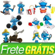 Smurfs Bonecos (6 Kits) Total 9 Bonecos - Sunny