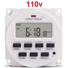 1 Timer Temporizador Digital Nano 110v - Original Sinotimer