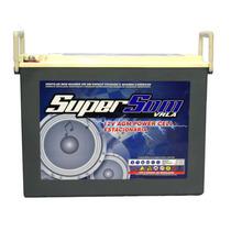 Bateria Super Som 120 Agm Gel Tarampas Banda Slim Muito Top