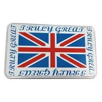 Caja De Metal Estampado Bandera Britanica