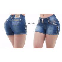 Shorts Jeans Pit Bull Levanta E Modela Bumbum - Cód. 20018