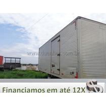 Baú Aluminio 6,20 Mts P/ Caminhão 3/4